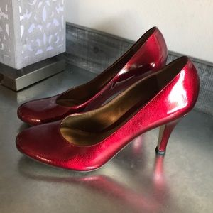 Arturo chiang Red patent heels size 10